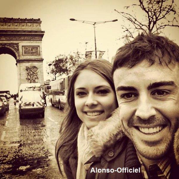 Fernando Alonso à Paris    Avant une semaine charger.