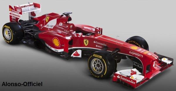 La Scuderia Ferrari lève le voile sur la nouvelle F138    Cette voiture permettera-t-elle à Fernando Alonso de gagner le titre 2013 ?