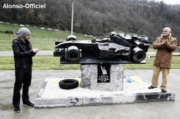 Fernando Alonso a était appercu lors d'un enterrement    En hommage à Roberto Nosetto.
