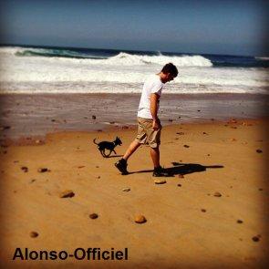 News  - Grand Prix - Défi - Autre _____-..________________Semaines détentes pour Fernando Alonso Qui retrouve sa compagne Dasha Kapustina
