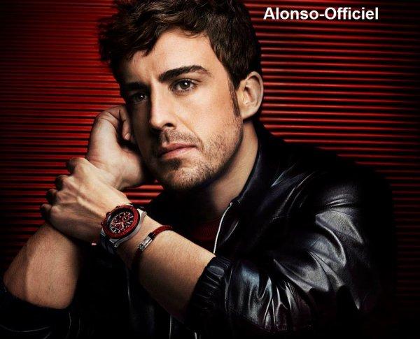News  - Grand Prix - Défi - Autre _____-______________-__.__Photos-shoots de Fernando Alonso Les nouvelles montres du groupe Viceroy