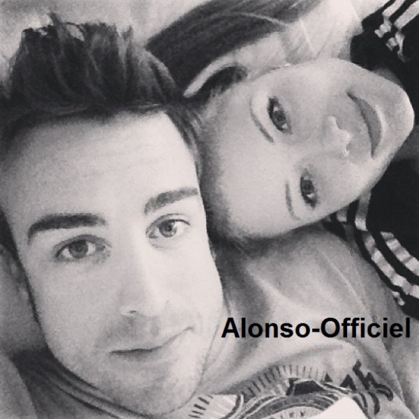 News - Grand Prix - Défi - Autre __________________________-.__Photo Coup de Coeur N°3 Fernando Alonso et Dasha Kapustina
