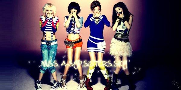 Miss A ~ Bienvenue sur le tout premier blog des SYP Sisters !.