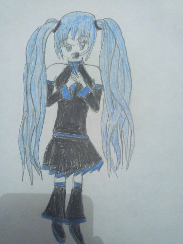 personnage de ma fic 1 hatsune miku