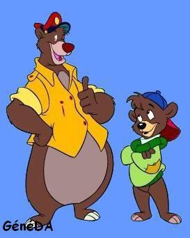 Super Baloo 1991 Un Monde Fabuleux Celui Des Dessins