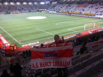 """""""J'ai Nancéien comme Religion, Nancy comme Direction, Supporter comme Mission & Marcel Picot comme Destination."""""""