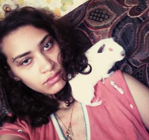 moi e mon cochon d'Inde