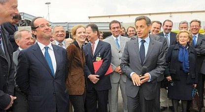 Corrèze : Sarkozy et Hollande font assaut de chiraquisme ................ bandes de clowns