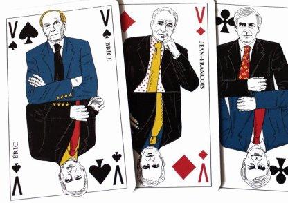 On en fait même des jeux de cartes .....