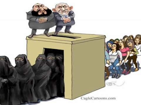 Ça y est !! la démocratie est enfin arrivée  !!!    Egypte et Tunisie :   Elections 2011