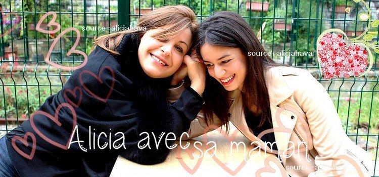 Alicia et sa maman