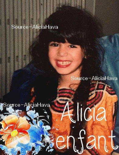 Alicia enfant
