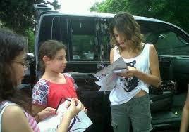 Qui a des autographe de Martina !