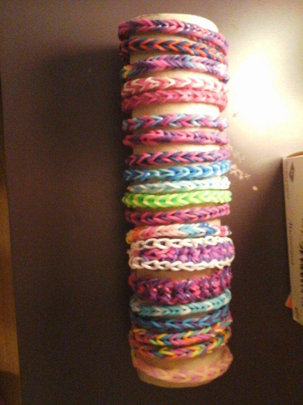 mes bracelets loom zomm