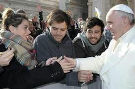 Tini et le pape♥