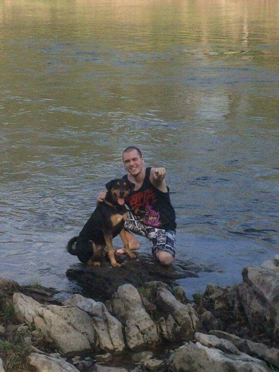 Moi et mon dog :)