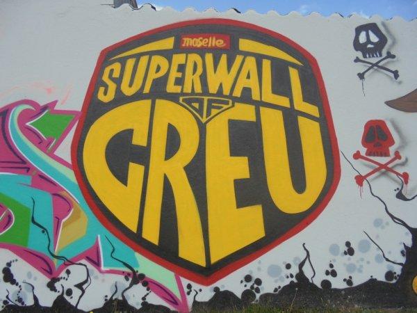 SUPERWALL OF CREU 2014