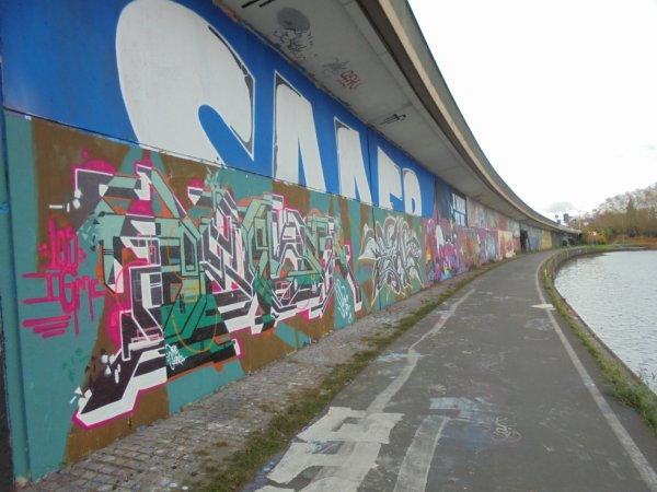 Legal Wall Sarrebruck