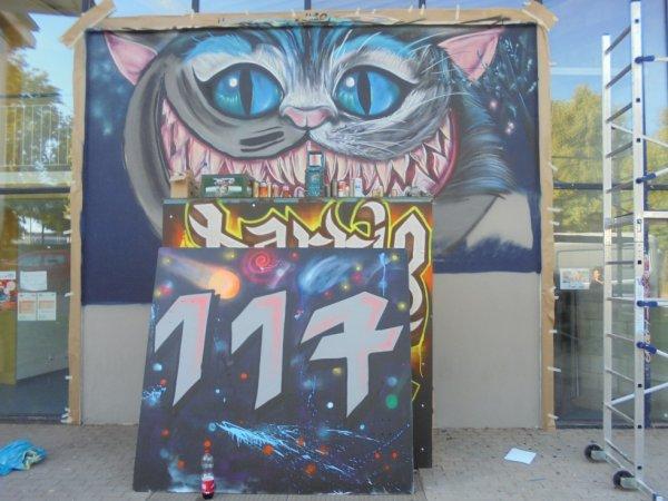 Graffiti Meeting 22/24 juin 2018 JUZ Folsterhöhe