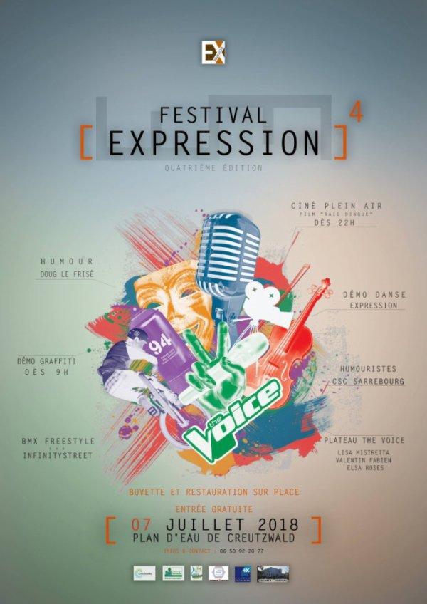 Festival Expression 4 Creutzwald 07 juillet 2018