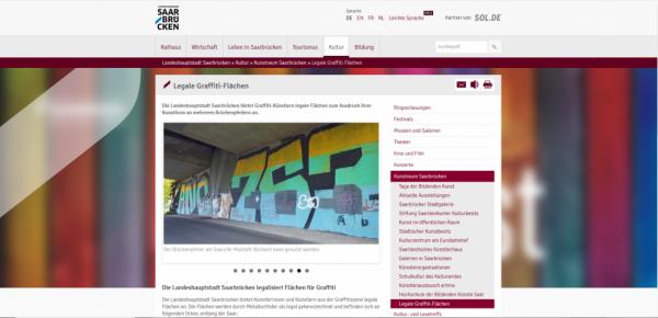 Surfaces de graffiti légales / Legale Graffiti-Flächen