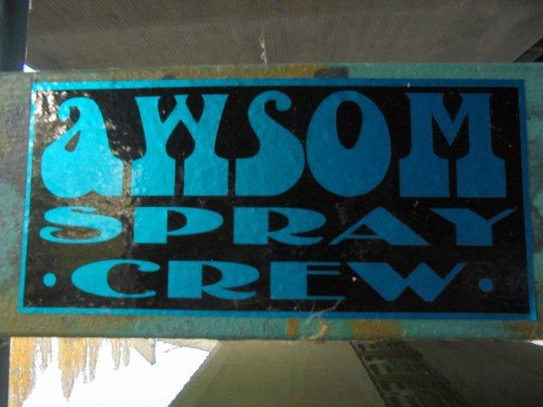 AWSOM SPRAY CREW
