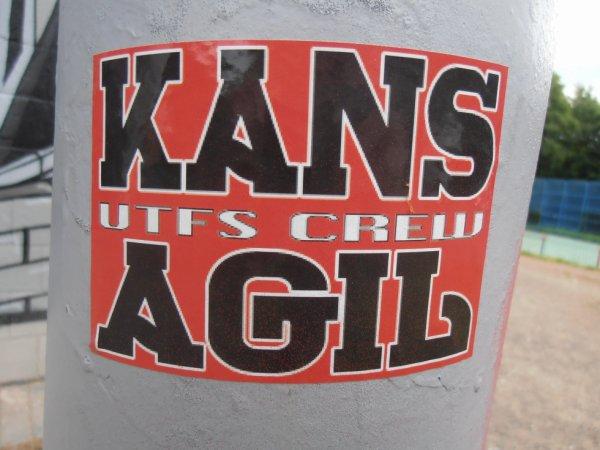 KANS AGIL UTF'S CREW
