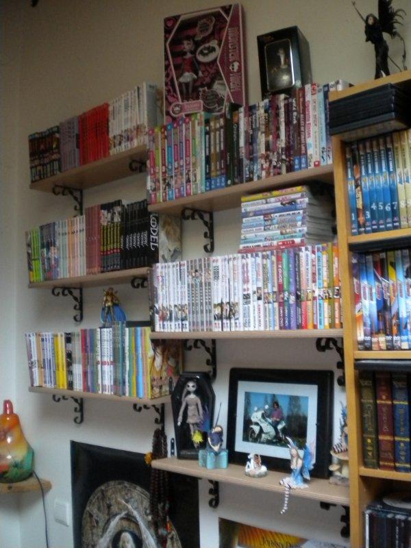 † ...Ma bibliothèque en images... †