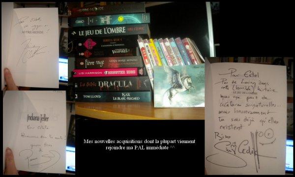 † ...Compte-rendu du Salon du Livre 2011... †