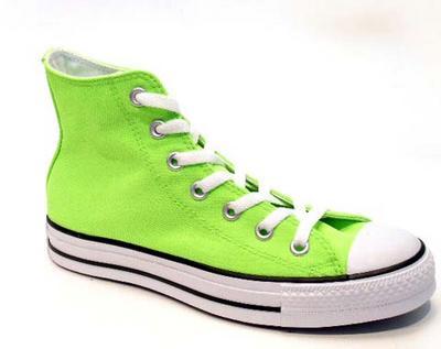 converse vert fluo - ...**LES CONVERSES**... grand fénomène...