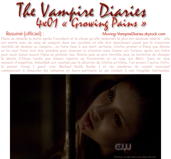 The Vampire Diaries : Saison 4, Episode 01