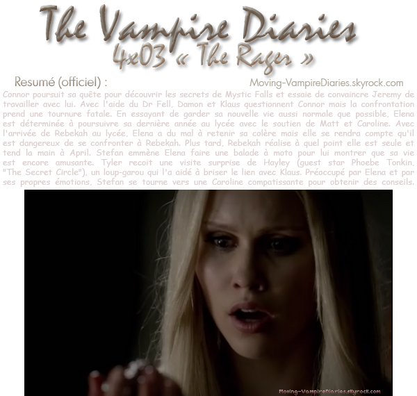 The Vampire Diaries : Saison 4, Episode 03