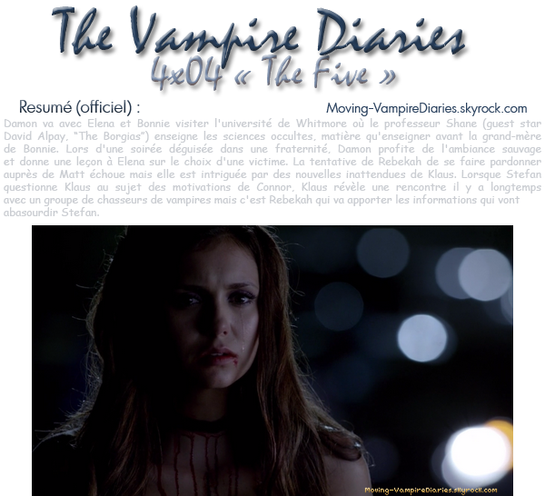 The Vampire Diaries : Saison 4, Episode 04