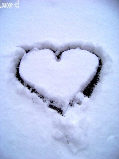 Neige - Coeur ♥