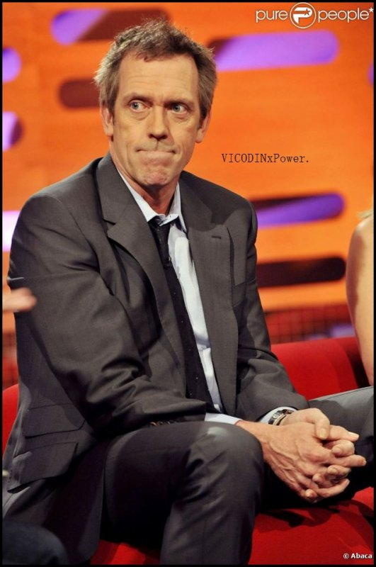 - Hugh Laurie -