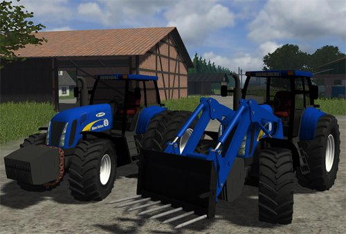 Mod New Holland T8040 Pack
