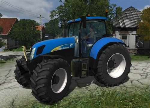 Mod New Holland T7030