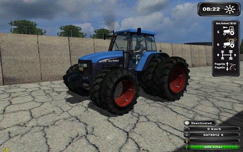 Mod New Holland TM120