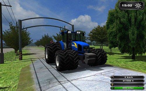 Mod New Holland T8050 V Power