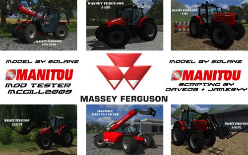 Mod Massey Ferguson ModPack