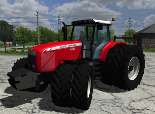 Mod Massey Ferguson 8450 Dual Wheels