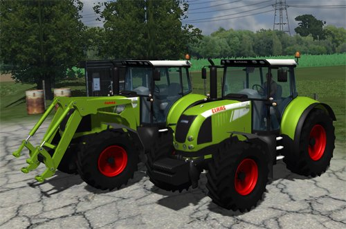 Mod CLAAS Arion 640 FL Pack