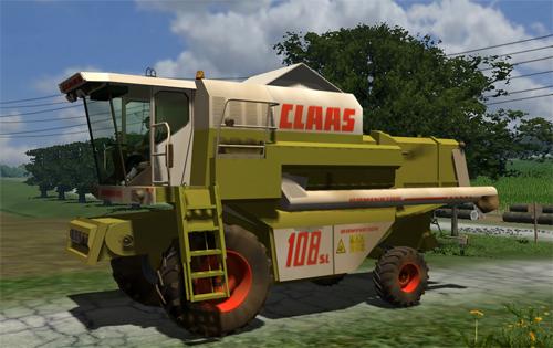 Mod CLAAS Dominator 108SL (Washable)