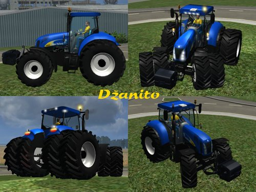 Mod New Holland T8050