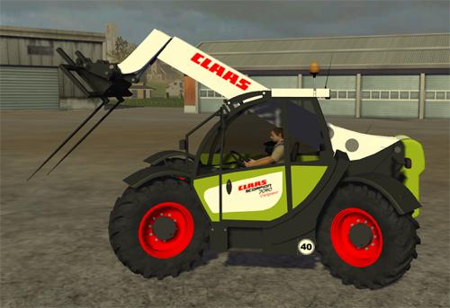 Mod CLAAS Skorpion 7040