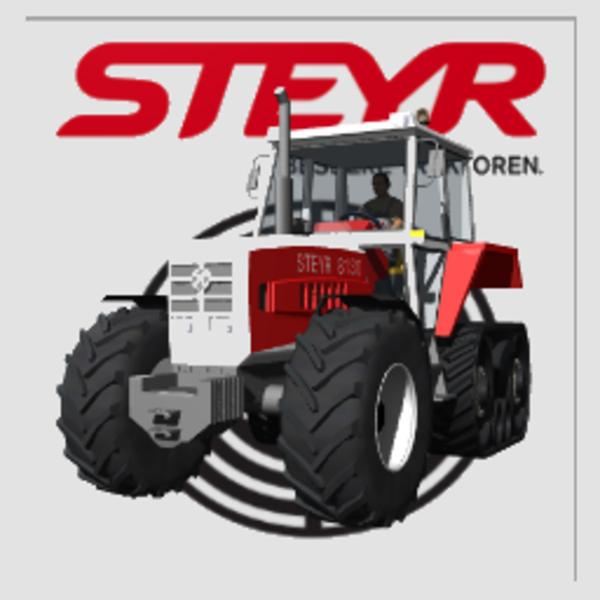 Mods Steyr 8130 TerraTrac