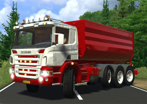 MOd Scania P420HKL plus Container