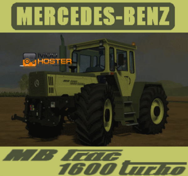 mods MB trac 1600 turbo