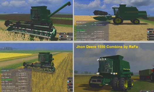 Mod John Deere 1550 Pack (AP)