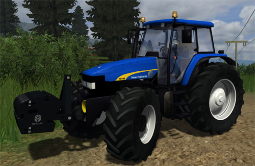 Mod New Holland TM190 v1.1 (AP & CP)
